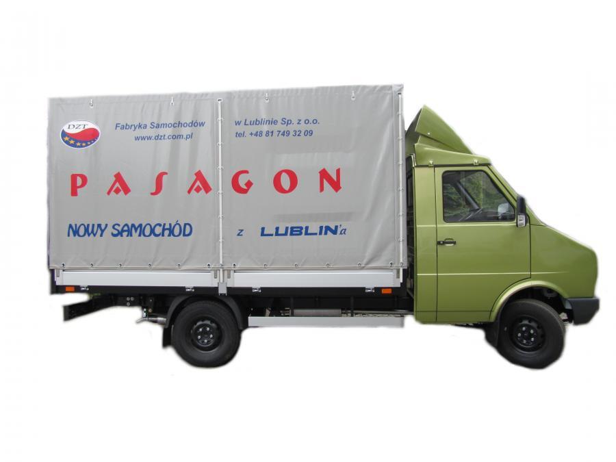 Pasagon truck widok z boku. fot. materiały prasowe producenta DZT Tymińscy