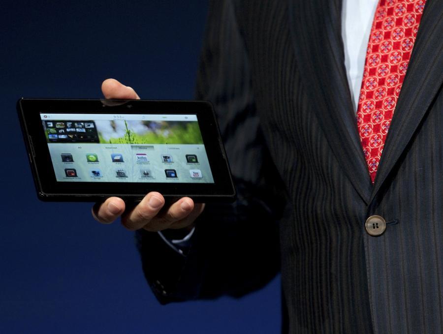 Prezentacja tabletu RIM PlayBook