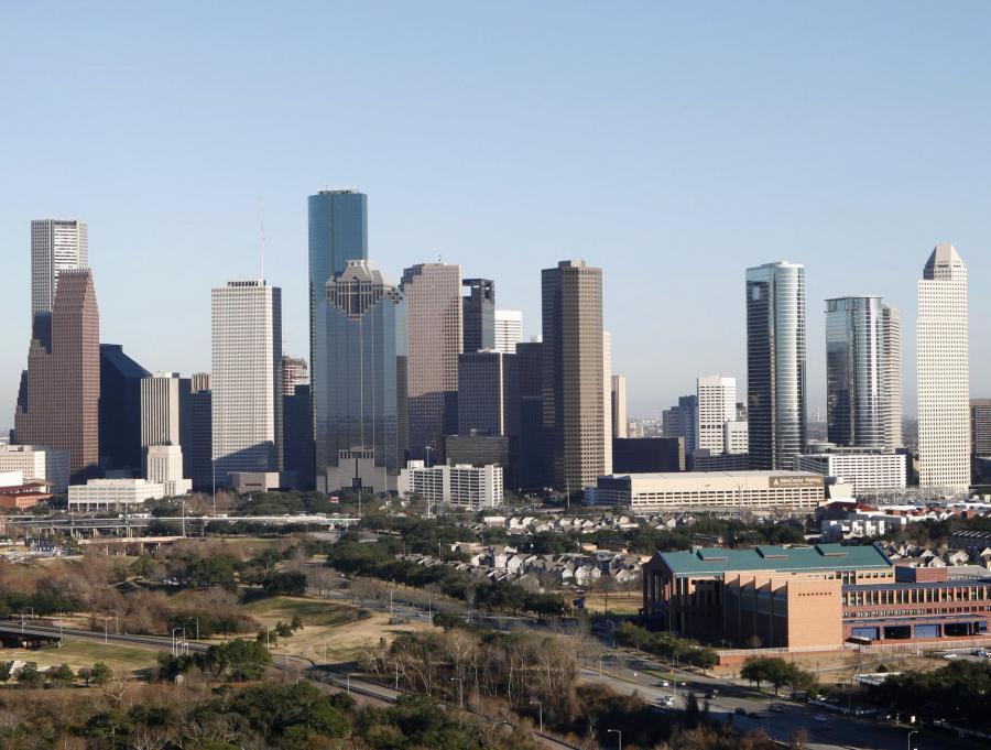 Houston to największe miasto w  Teksasie i czwarte do co wielkości w Stanach Zjednoczonych.