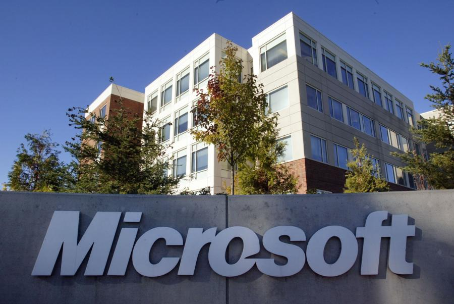 Siedziba Microsoftu w Redmond w stanie Waszyngton.