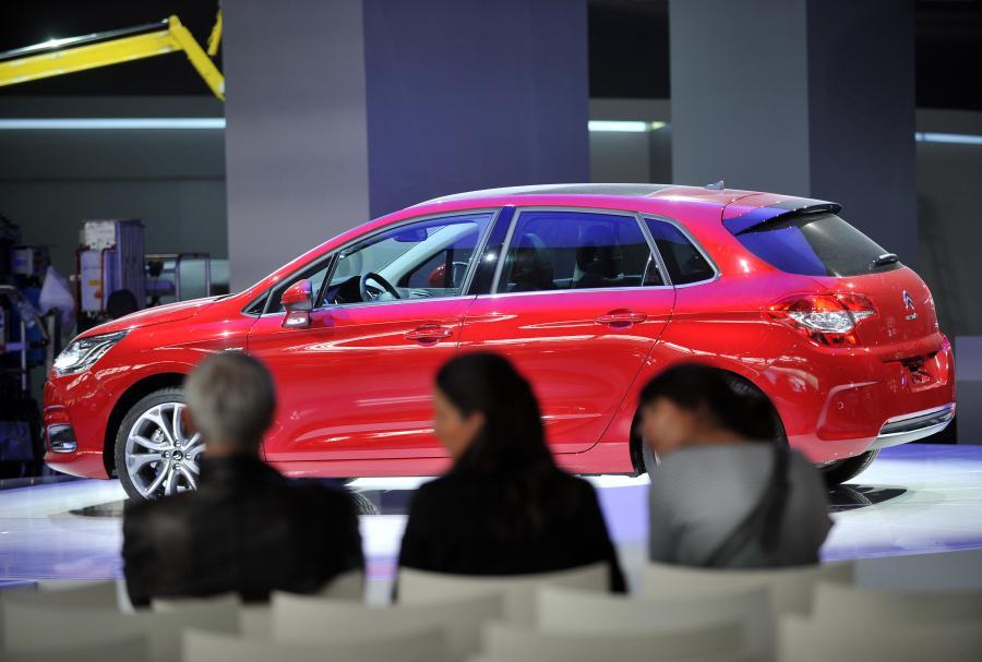 Paris Motor Show - od 2 października będzie można oglądać samochody najlepszych marek – Citroen C4.  Fot: Antoine Antoniol/Bloomberg