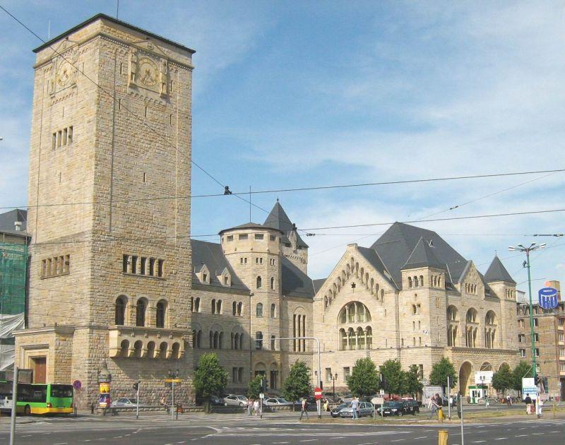 Zamek w Poznaniu, fot. Łukasz Poznań, wikimedia commons