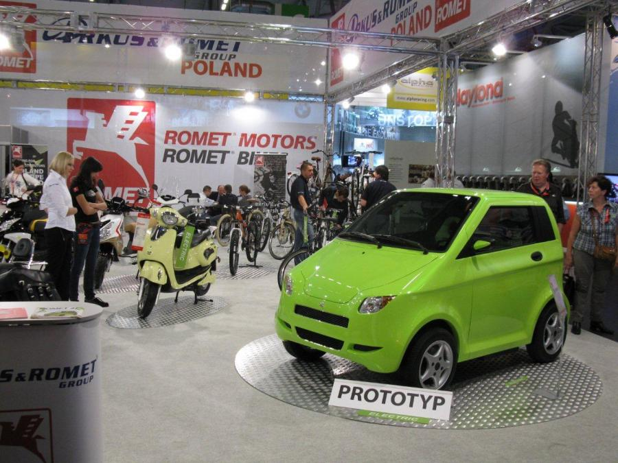 Romet 4E - Electric Economic Ecologic East (3), fot. matreiały prasowe Romet;