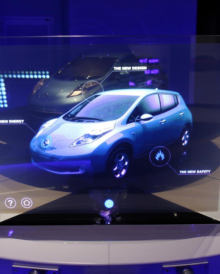 Nissan Leaf –  Nissan Leaf to samochód z napędem w pełni elektrycznym, którego masowa produkcja rozpoczęła się w piątek 22 października w Yokosuka City w Japoni.