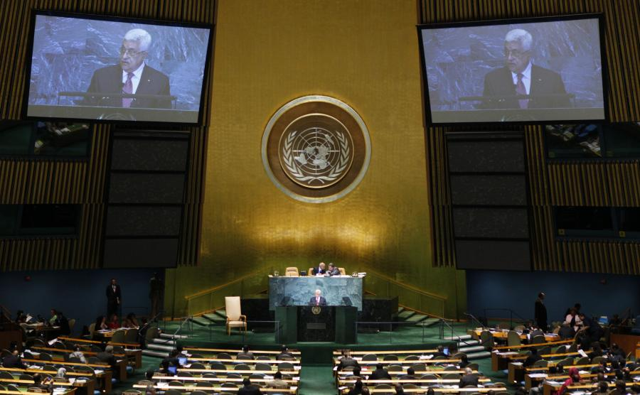 Zgromadzenie Ogólne ONZ w Nowym Jorku.