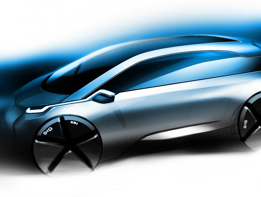 Artystyczna wizualizacja nowego BMW Megacity