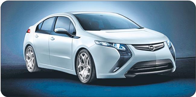 Opel Amera może przejechać 500 km