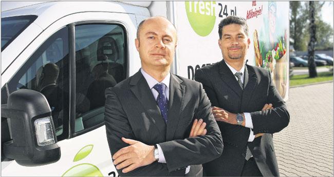 Jan Tkaczow i Piotr Wasilewski próbują sił w handlu za pośrednictwem internetu Fot. Materiały prasowe