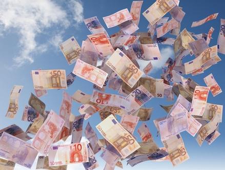 Banknoty euro, Fot. Shutterstock