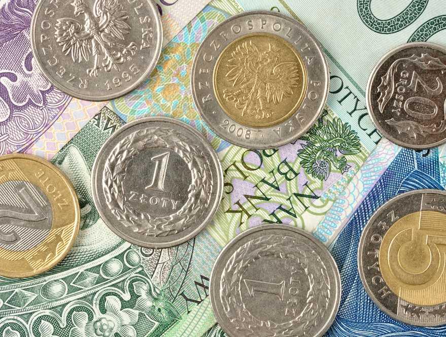 Złoty będzie rósł w siłę, jeśli sytuacja w strefie euro po ostatnim zamieszaniu wokół Irlandii się uspokoi. Rynek dobrze przyjął informację o pomocy dla tego kraju, ale negatywnie zareagował na wieści o kłopotach z poparciem dla cięć w budżecie. Zdaniem analityków na koniec roku euro może kosztować 3,85 zł, a dolar 2,77 zł Fot. Shutterstock