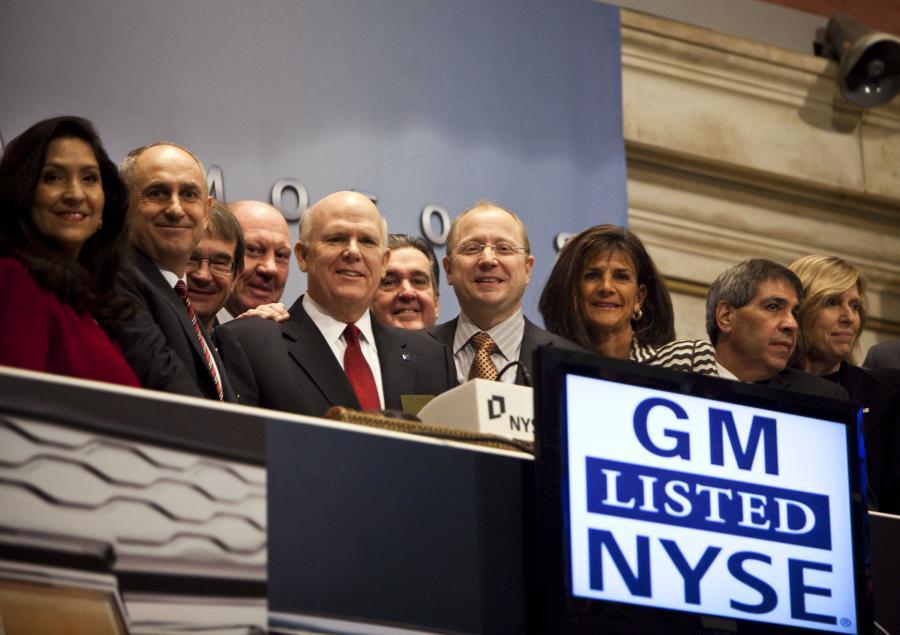 Debiut General Motors był dziś wisienką na torcie inwestorów.