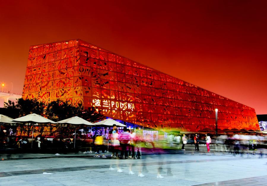 Polski pawilon na Expo 2010 w Szanghaju przyciągnął miliony zwiedzających. Fot. Shutterstock