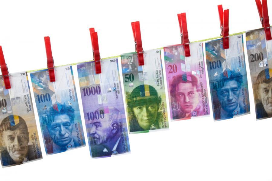 Rośnie kurs franka