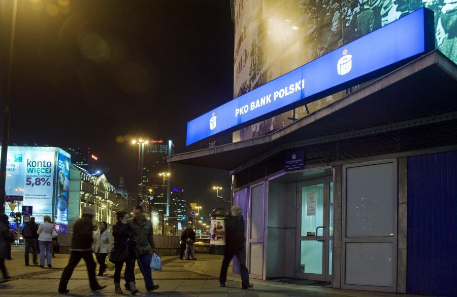 Bank PKO BP w Warszawie.