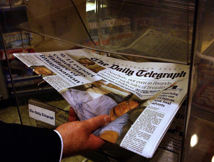 Dostęp do treści Daily Telegraph w interencie będzie płatny — zdecydował wydawca