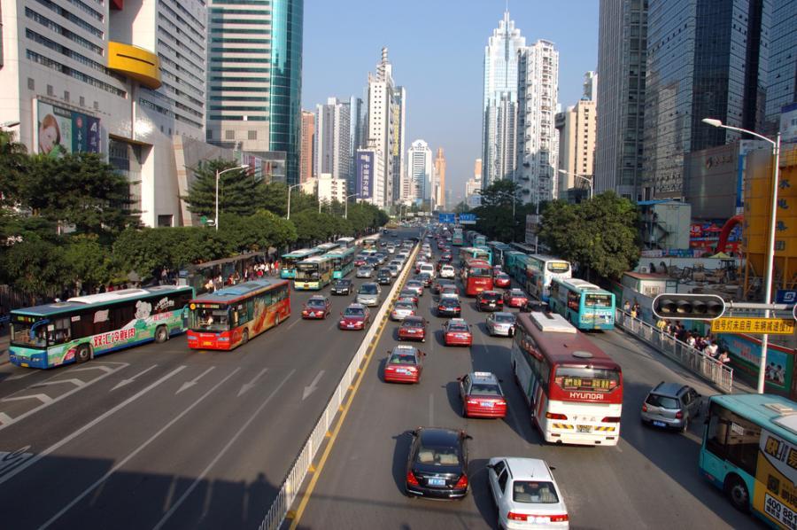 Chińskie Schenzhen uplasowało się na 2. pozycji najbardziej dynamicznych miast w pokryzysowym świecie. Fot. Shutterstock.
