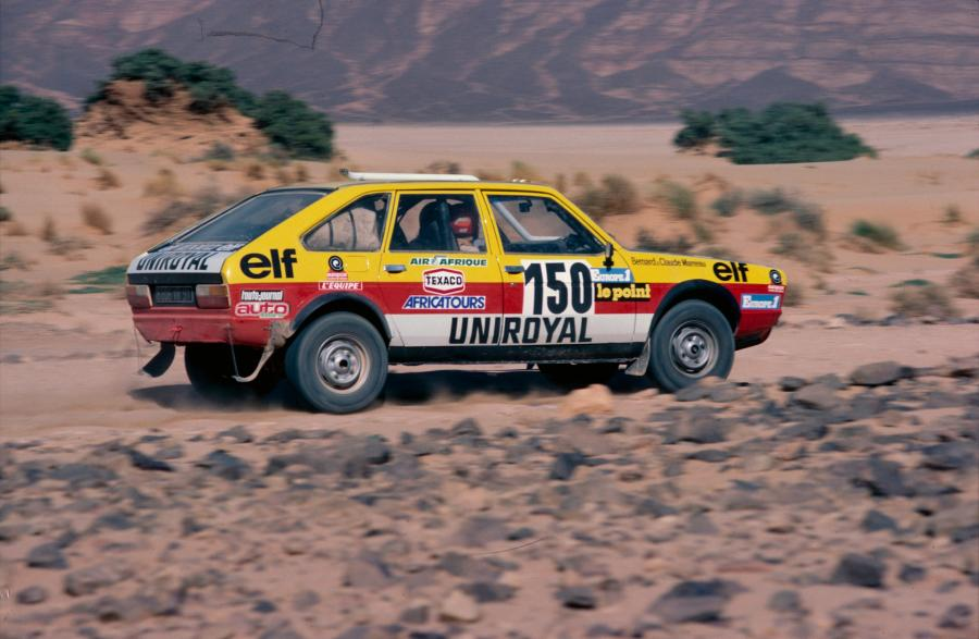 Renault R20 4x4 Paris-Dakar 1982 r. fot. materiały prasowe Renault Polska