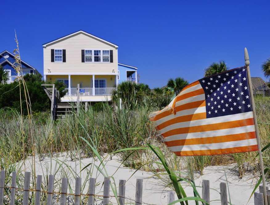 Ameryka, dom Fot. Shutterstock