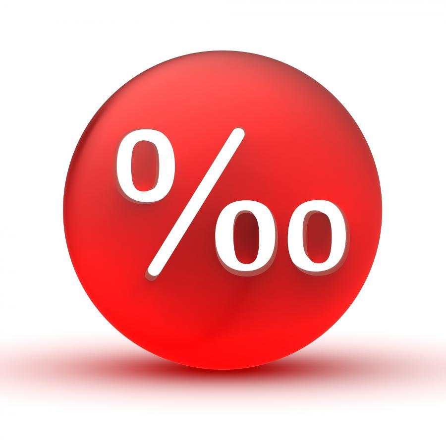 Przyszłoroczny zysk z lokat może być liczony w promilach; zdj. shutterstock
