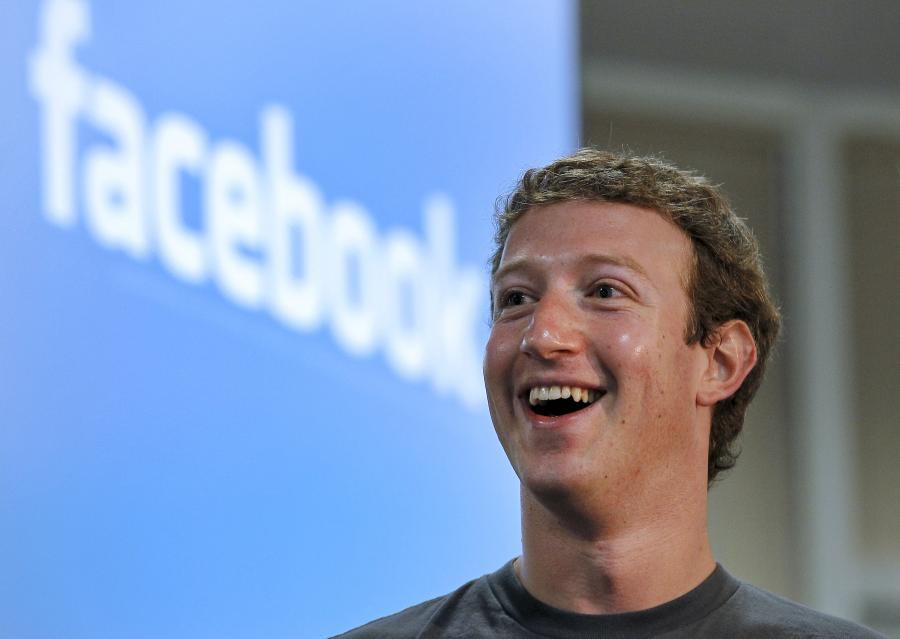 Mark Zuckerberg, założyciel portalu Facebook