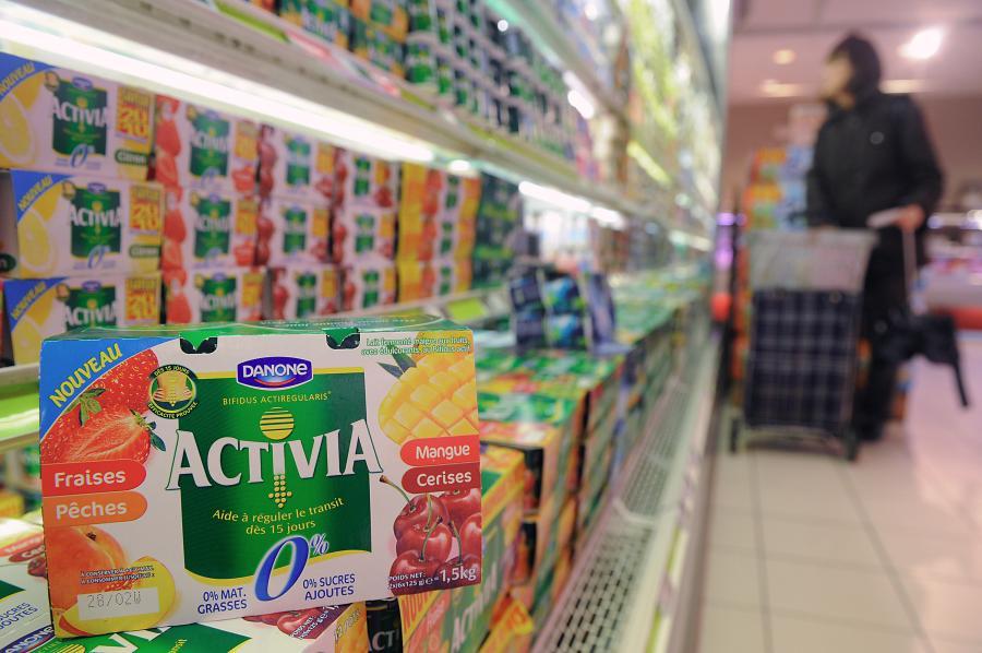 Actimel i Activia należą do najlepiej sprzedających się produktów Danone'a.