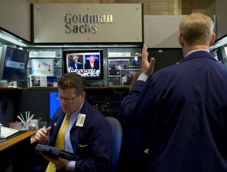 Menedżerowie Goldman Sachs otrzymają w przyszłym miesiącu 111,3 mln dolarów dodatków do pensji w postaci akcji.