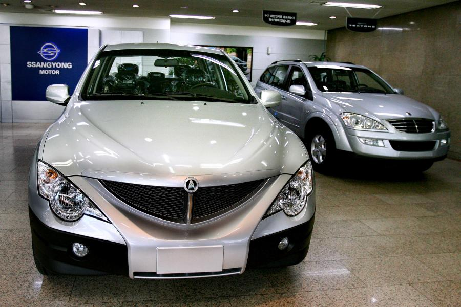 Samochody marki Ssangyong
