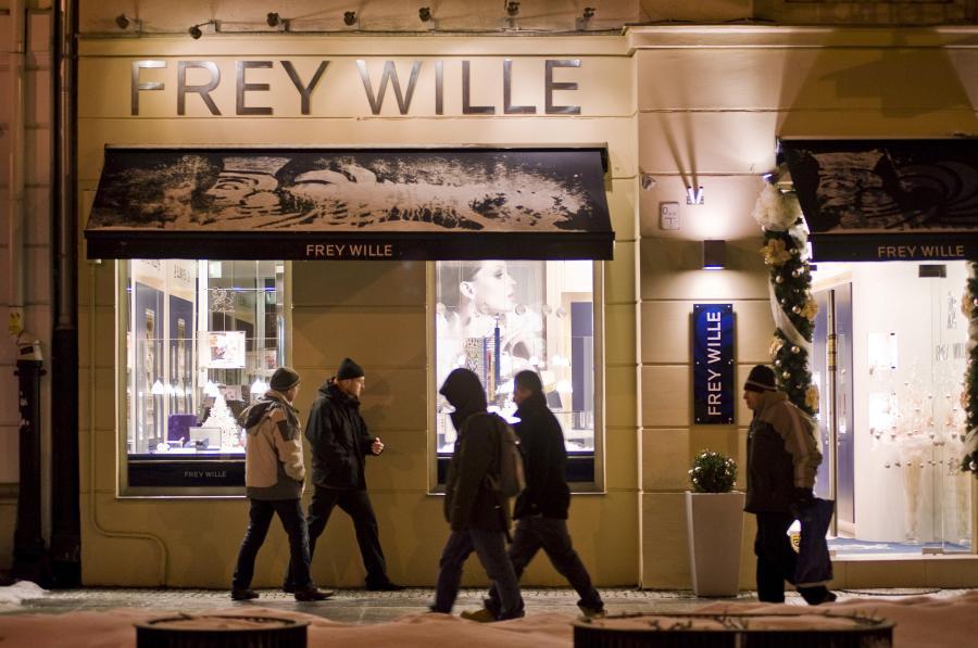 Warszawa - sklep z biżuterią artystyczną Frey Wille
