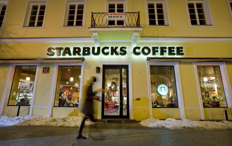 Kawiarnia Starbucks w Warszawie