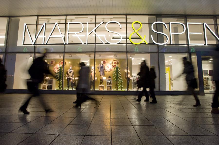 Sklep Marks&Spencer w Warszawie