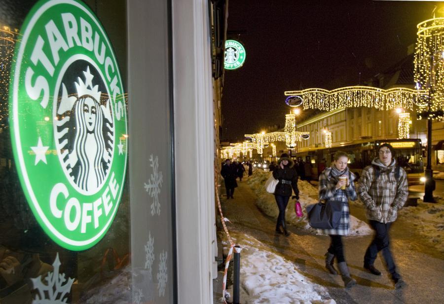 Kawiarnia Starbucks na Nowym Świecie w Warszawie