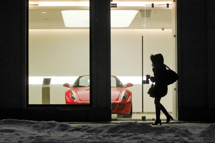 Salon Ferrari, Warszawa