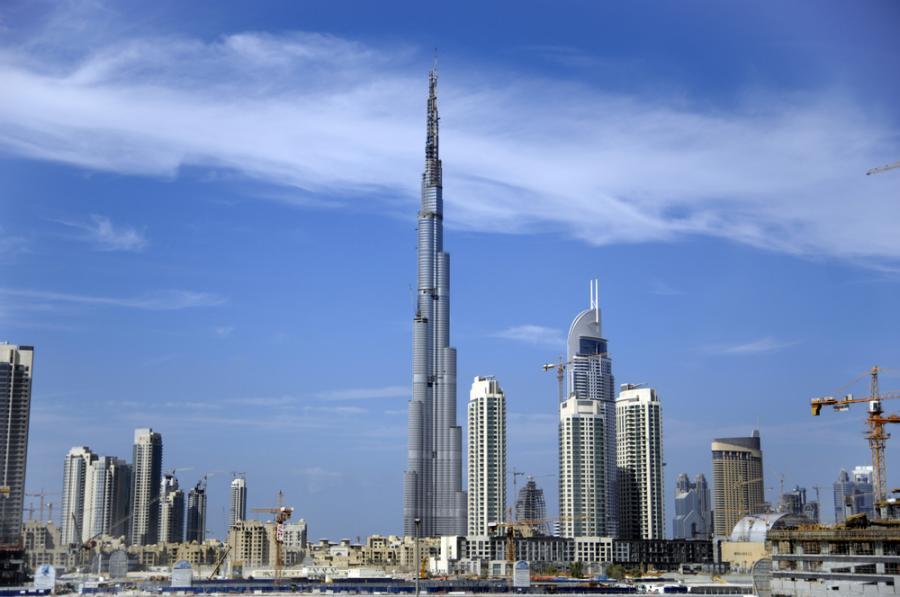Widok na Dubaj, stolicę Zjednoczonych Emiratów Arabskich. Fot. Shutterstock.