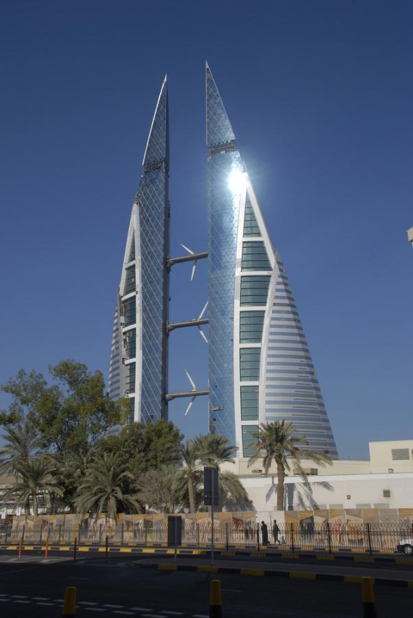 Manama: Bahrain World Trade Center. Fot. Shutterstock.
