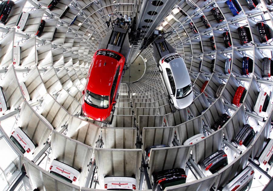Volkswagen Fot. Jochen Eckel/Bloomberg