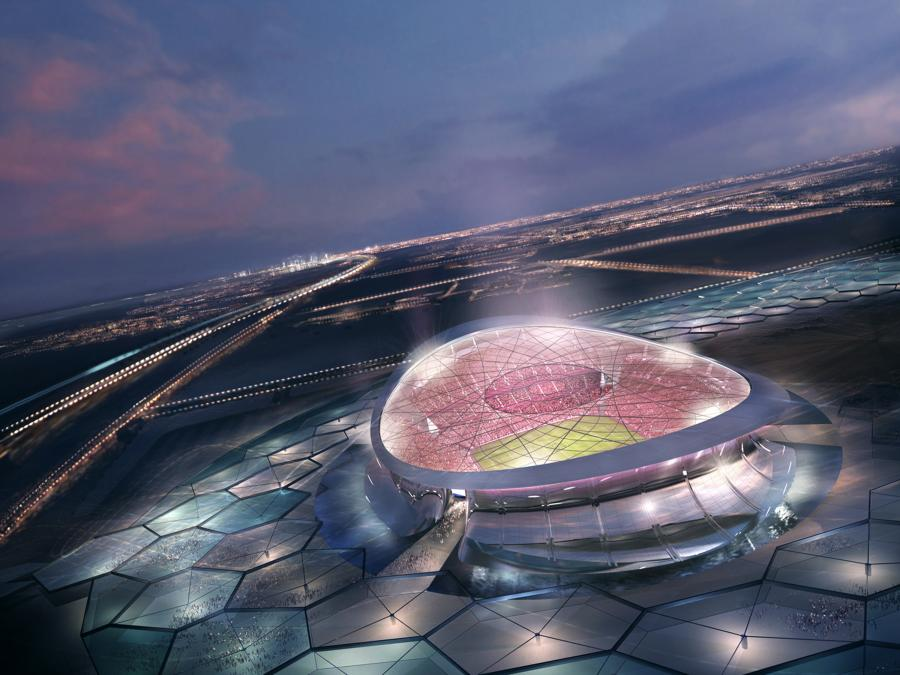 Projekt stadionu na mundial 2022 w Katarze