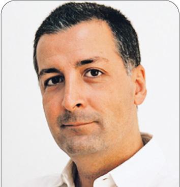 """Carlo Campos, wiceprezes Innovation Media Consulting, hiszpańskiej firmy specjalizującej się w doradztwie dla wydawców prasy na całym świecie. Firma pracuje dla takich gazet, jak """"USA Today"""", """"The Observer"""", """"Liberation"""" czy """"El Pais"""" Fot. Materiały Prasowe"""