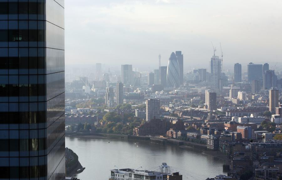 Londyn, widok na wieżowiec Swiss Re.  Fot. Chris Ratcliffe/Bloomberg