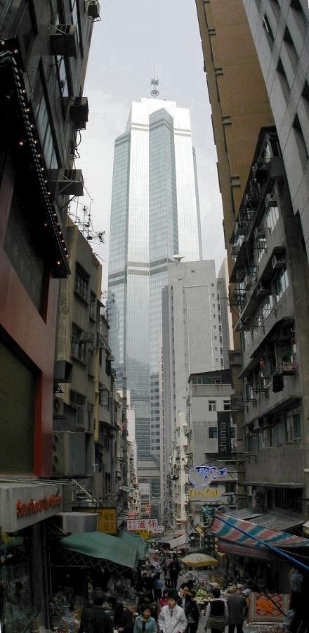 The Center w Honk-Hongu - wysokość budynku 346 m., ukończony w 1998 r. Fot. wikipedia.commons.org, Creative Commons Attribution-Share Alike 3.0 Unported