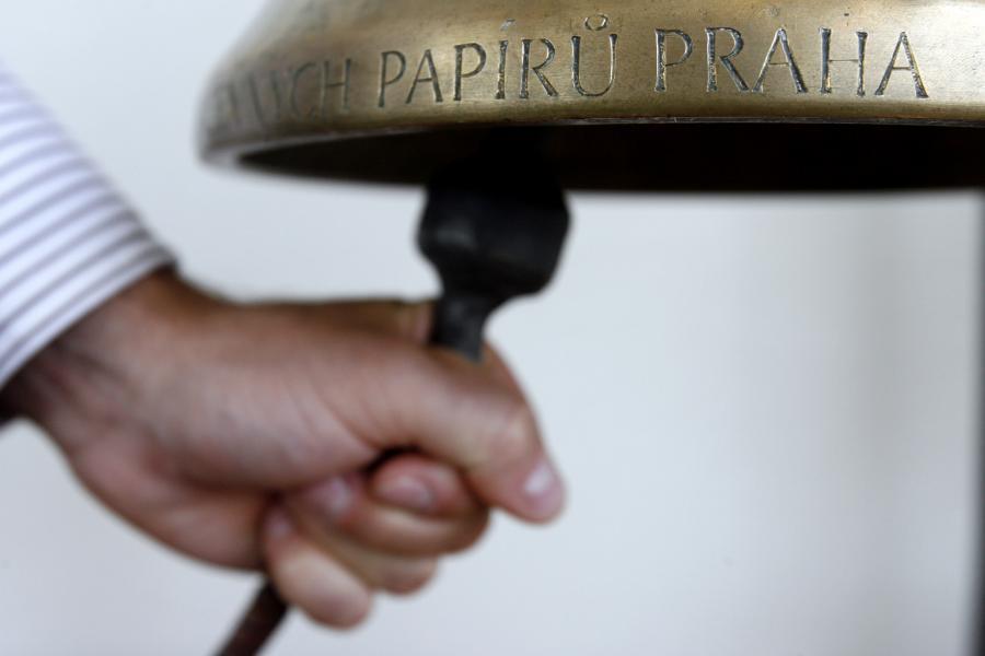 Na giełdzie w Pradze dzwon też obieszcza nowy debiut