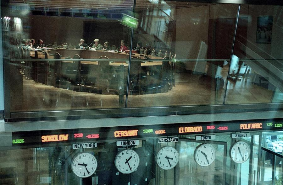 Zegary na GPW