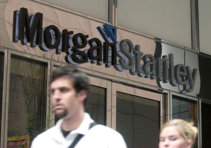 Siedziba banku Morgan Stanley fot. Bloomberg