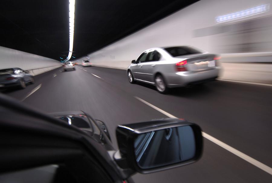 Tunel, autostrada