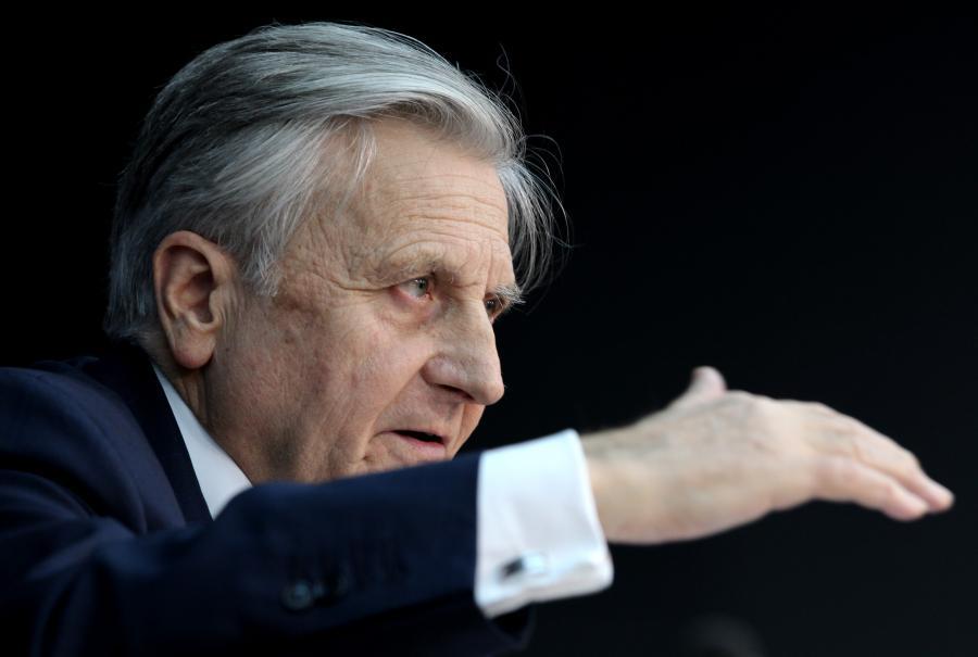 Jean-Claude Trichet, przewodniczący Europejskiego Banku Centralnego.