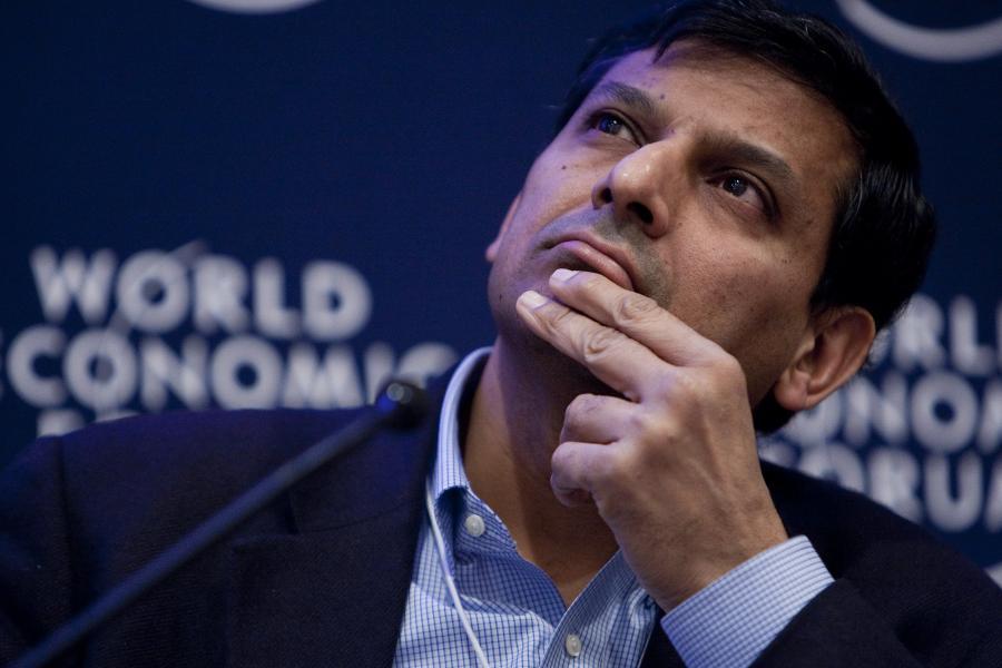 Raghuram Rajan, profesor finansów na University of Chicago, Davos, 26 stycznia 2011 r.