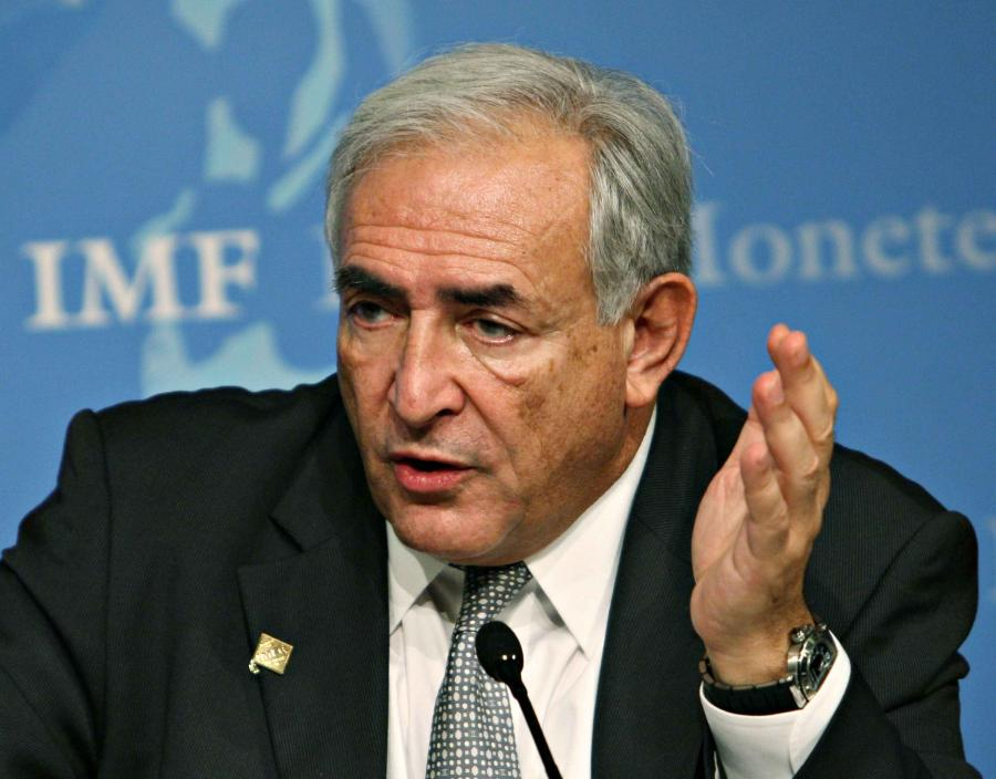 Dominique Strauss- Kahn dyrektor generalny MFW