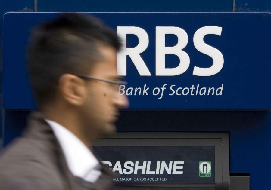 Royal Bank of Scotland jest już bliski nacjonalizacji.