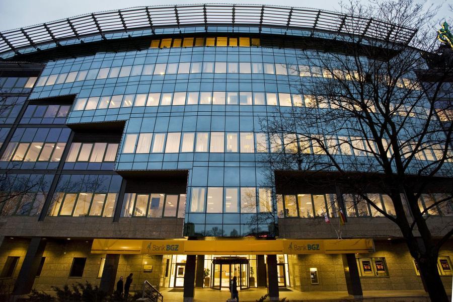 Siedziba banku BGŻ w Warszawie