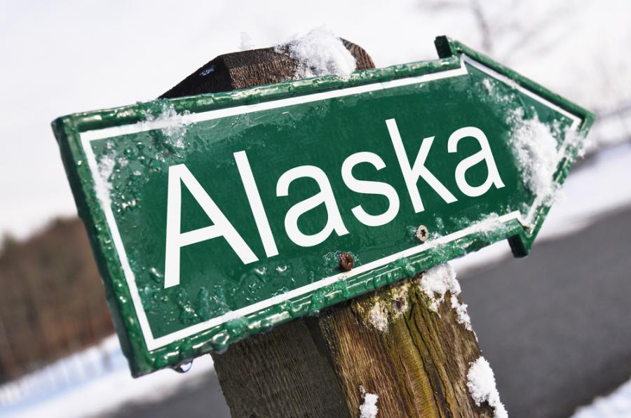 Kierunkowskaz Alaska, mat. shutterstock