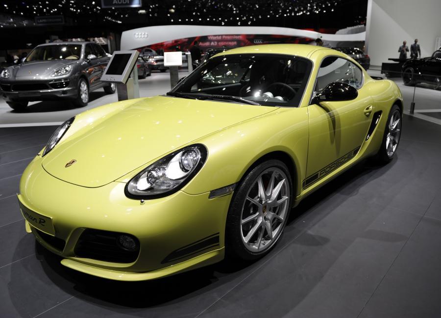 Porsche Cayman R 3